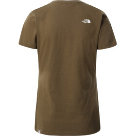 The North Face Easy SS Tee Women, Oliva